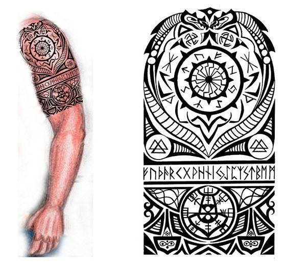 tatouage viking celtic mod les et exemples. Black Bedroom Furniture Sets. Home Design Ideas