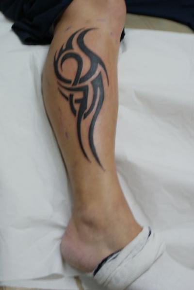 tattoo mollet tribal; tattoo mollet tribal